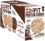 Sinister Labs Protein Bars Snickerdoodle Chocolate Chip Cookie Sinister Labs Sinfit Cookies