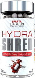 Sparta Nutrition Hydra Shred Original 120 tabs. (Discontinue Limited Supply)