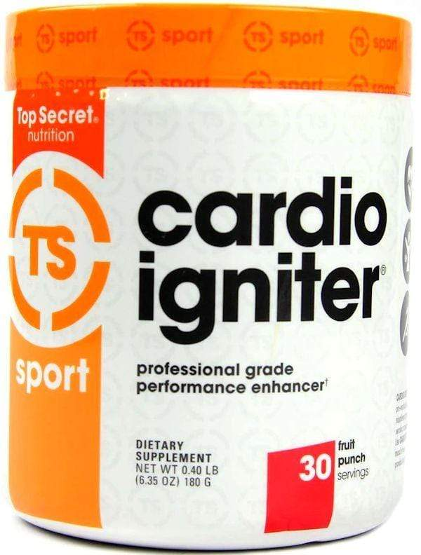 Top Secret Nutrition Pre-Workout Top Secret Nutrition Cardio Igniter 30 servings