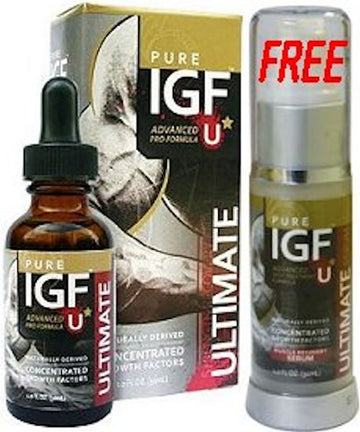 Pure IGF-Ultimate Pure Solutions 19.25 mg 1 oz (FREE SERUM)