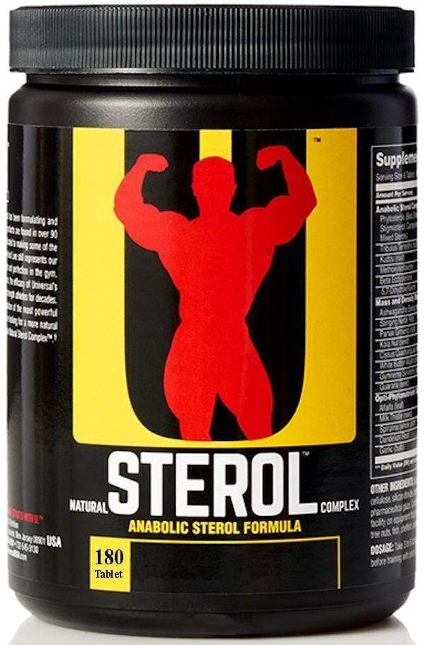 Universal Nutrition Lean Muscle Universal Nutrition Natural Sterol Complex 180 Tabs
