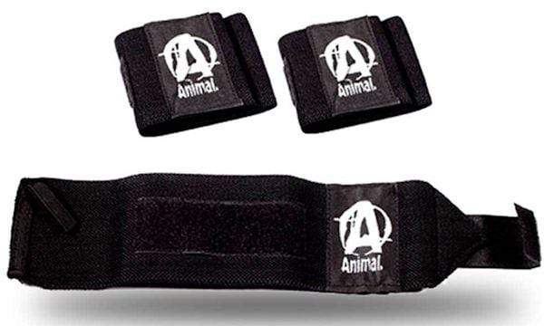 Universal Nutrition Wrist Wraps Universal Animal Wrist Wraps Black