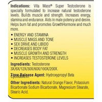 Vita Mass Test Booster Super Test 2 oz Vita Mass