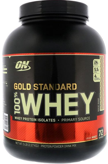 Optimum Nutrition Gold Standard 100% Whey 5 lbs 72 Servings FREE SHIPPING