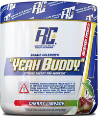 Ronnie Coleman Pre-Workout Cherry Limeade Ronnie Coleman Yeah Buddy