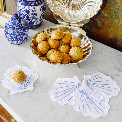 Chefanie Scallop shell orange cinnamon madeleines