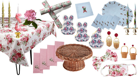 Chefanie Top 10 Best Easter Party Ideas for Tabletop and Accessories