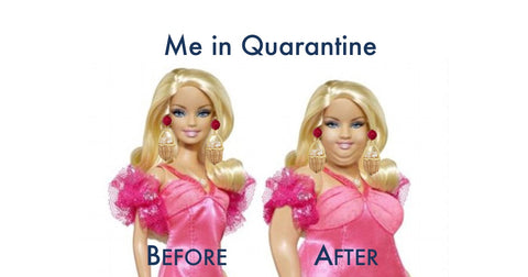 Quarantine Barbie via Chefanie