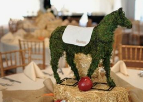 Moss Horse for Kentucky Derby Party