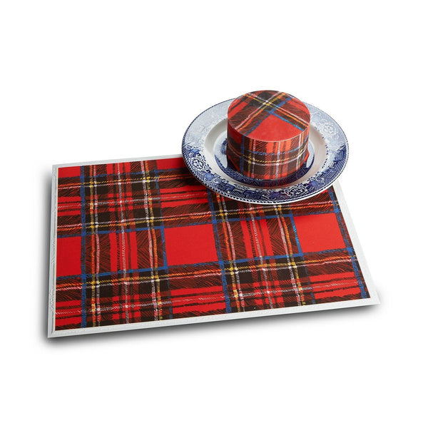 Chefanie Tartan Plaid Holiday Cake Sheets