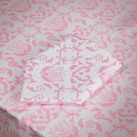 Pink & White Napkins, Set of 4