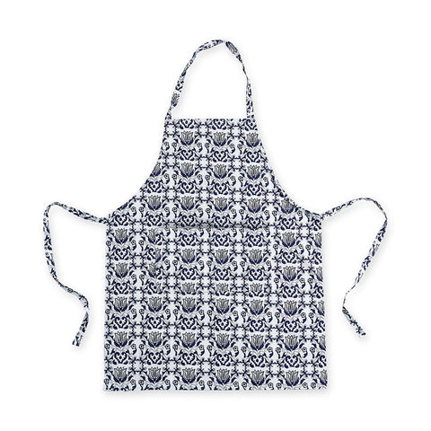 Blue & White Apron