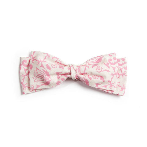 Pink & White Barrette