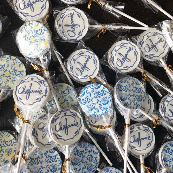 Customized Lollipops - Chefanie