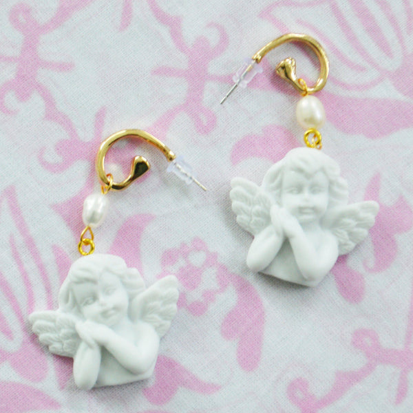 Cupid Earrings Basket Chefanie