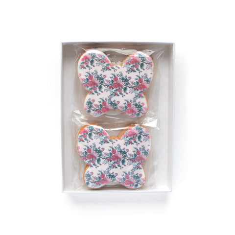 Chintz Butterfly Cookies (Box)