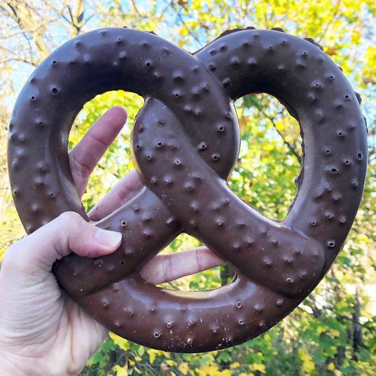 Giant Chocolate Pretzels (Pack of 10)