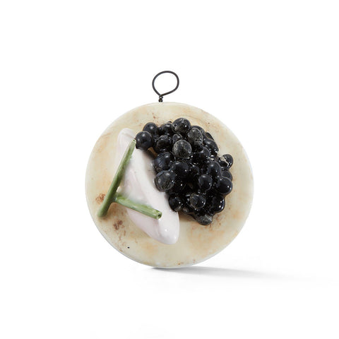 Caviar Blini Tree Ornament