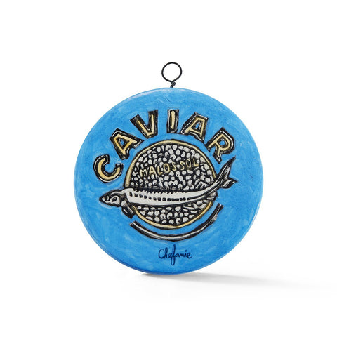 Caviar Tin Tree Ornament