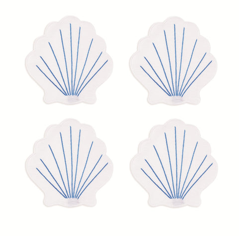 Coquilles Cocktail Napkins, Set of 4