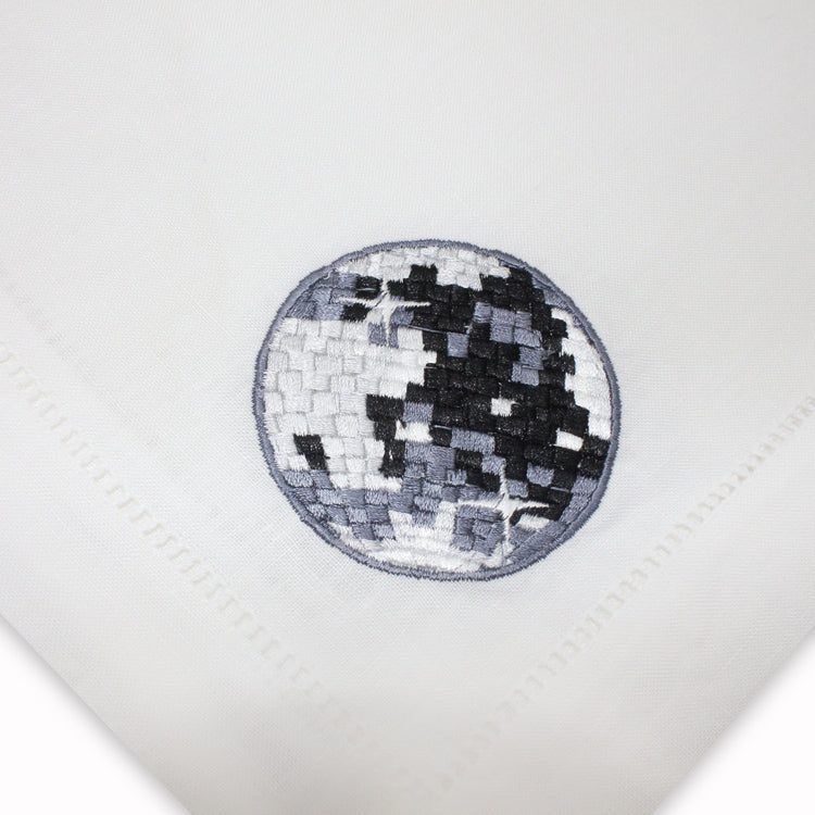 Disco Ball Dinner Napkins, Set of 4 Chefanie