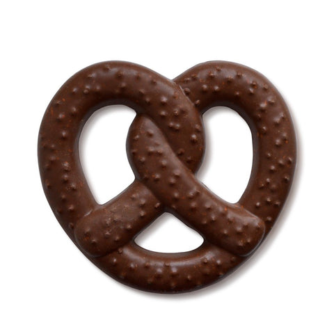 Giant Chocolate Pretzel