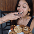 products/Gissele_Alzate_wearing_Chefanie_cookie_earrings.png