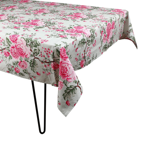 Green Chintz Tablecloth