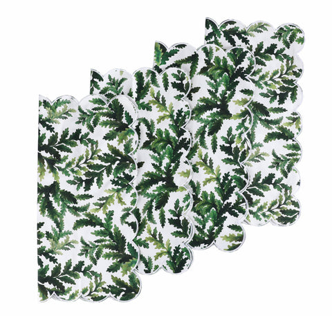 Green Leaf Napkins (4)
