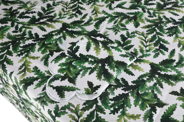 Green Leaf Tablecloth - Chefanie