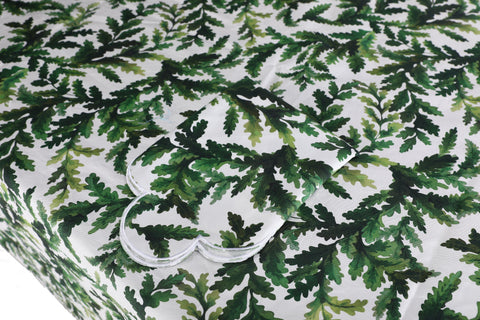 Green Leaf Tablecloth Chefanie