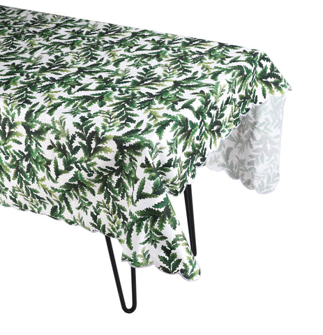 Green Leaf Tablecloth