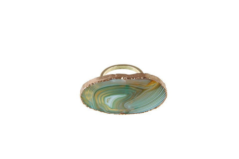 Agate Napkin Ring, Set of 4