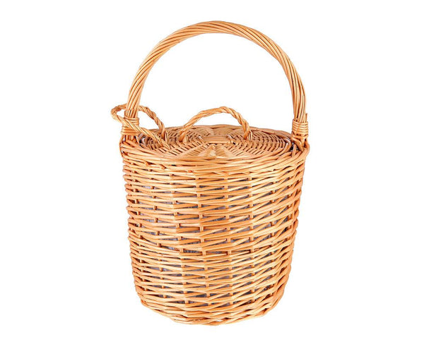 Honey Wicker Basket