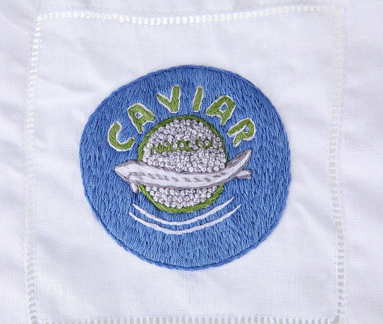 Caviar Cocktail Napkins - Chefanie