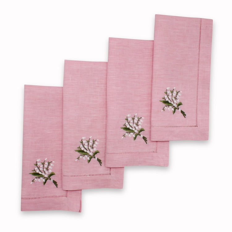 Lily of the Valley Dinner Napkins
