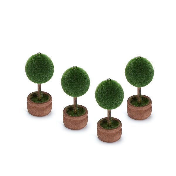 Topiary Placecard Holders, Set of 4 Chefanie