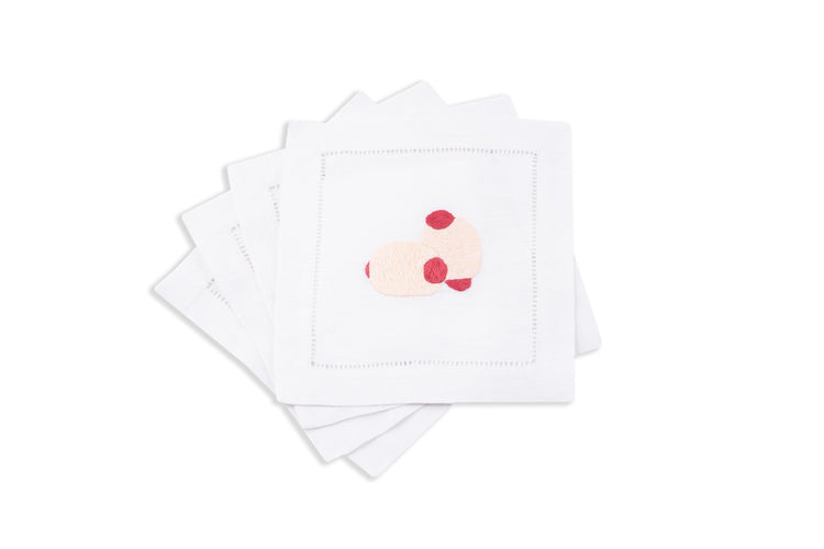 Cocktail Franks Cocktail Napkins, Set of 4 - Chefanie