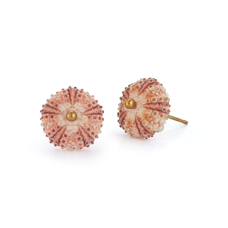 Sea Urchin Earrings - Pink - Chefanie