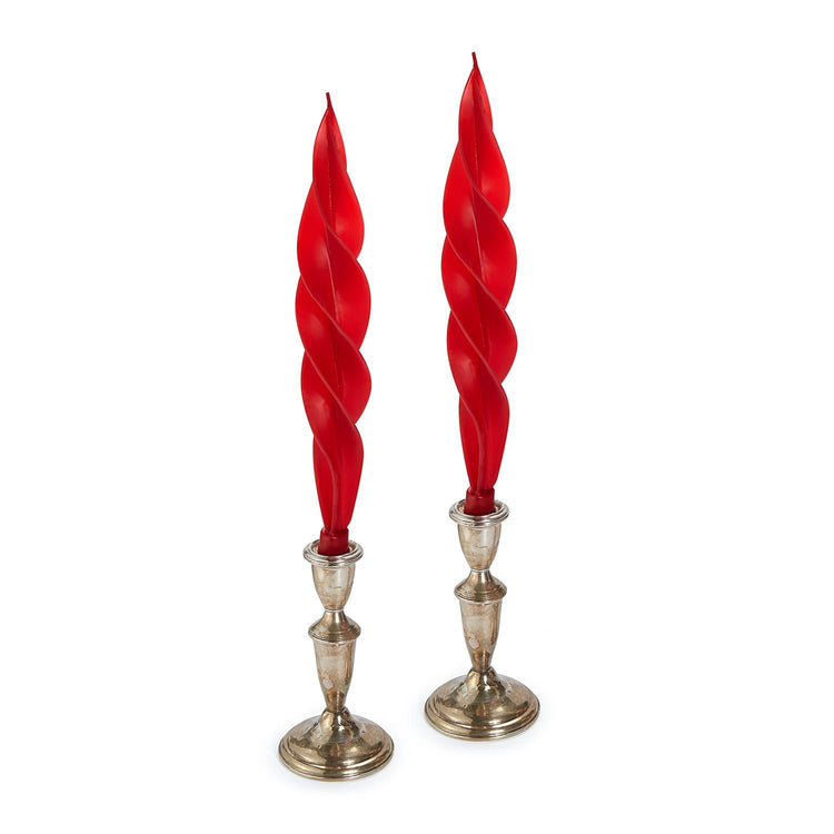 Red Feather Candles (2)