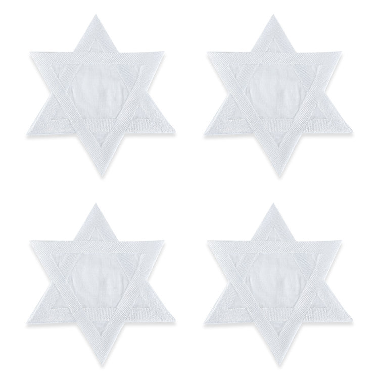 Star of David Cocktail Napkins
