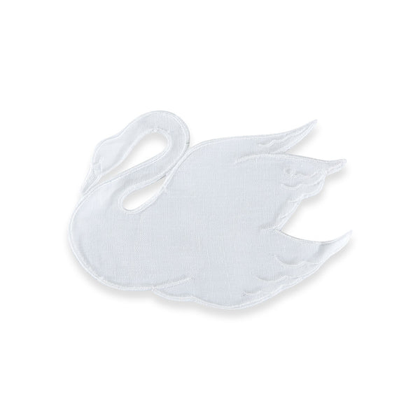 White Swan Cocktail Napkins - Chefanie