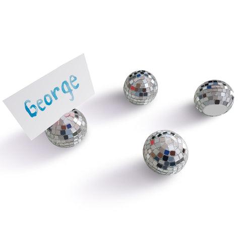 Disco Placecard Holders, Set of 4