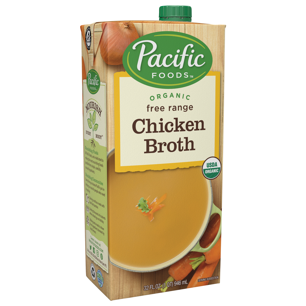 Pacific Foods' Organic Chicken Broth