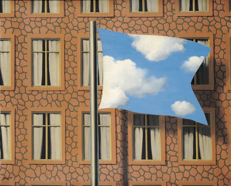 Magritte Cloud Flag Leopold Museum