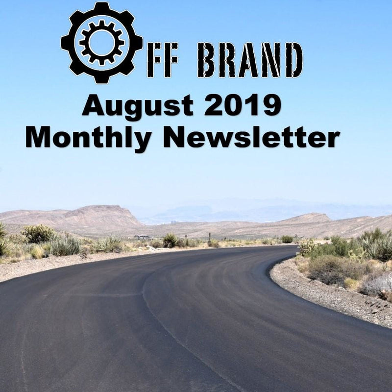 August 2019 Monthly Sales and New Products