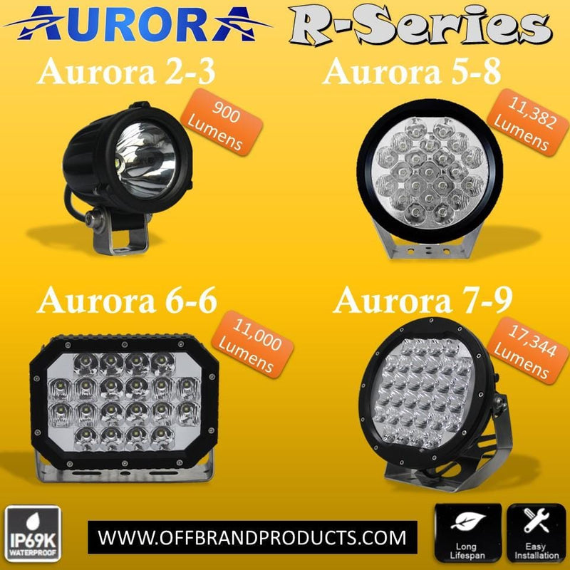 Aurora R-Series - THE Round LED lights