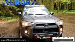 Best 20 Inch Light bar for a 5th Gen Toyota 4Runner with Victory 4x4 Blitz Bumper