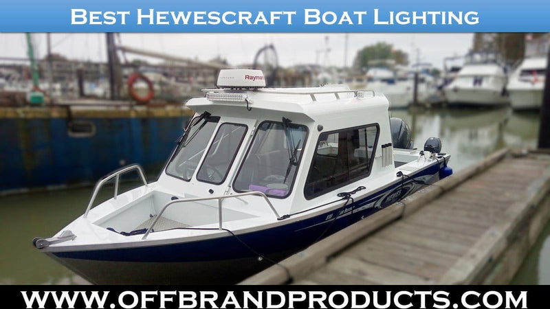 Best Hewescraft Boat Lighting Upgrade Option