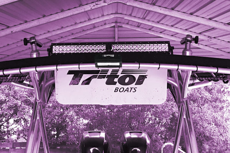 Best LED Light Bar for Triton Boats 2690CC